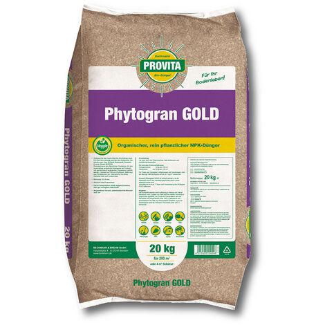 BECKMANN PROFI Provita® Phytogran GOLD Bio 20 kg engrais NPK 6 3 2