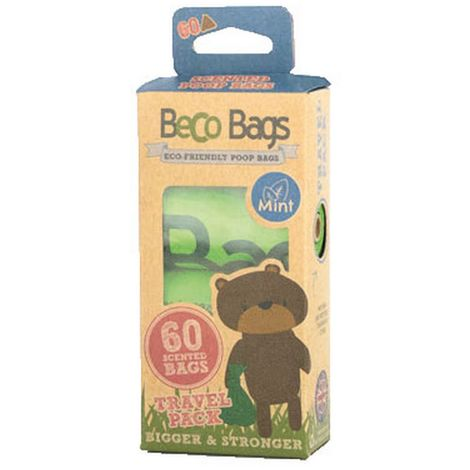 Beco Mint Scented Dog Waste Disposal Plastic Bags