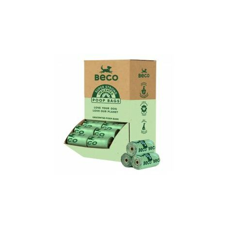 Beco Poop Bags Single Roll Display