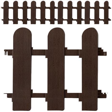 Bed Edge 25x22.5 or 31.5x35cm Garden Lawn Edging Flexible Border 10 or 6pcs Set