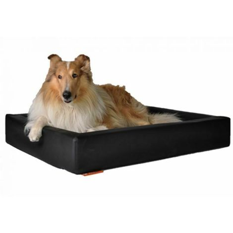 bed for dogs and cats in eco-leather