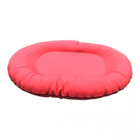 bed pillow for dogs orthopedic dog Comfort bed Dog cushion Dog sofa XL Pillow Red Skai Leather 85 x 123 cm