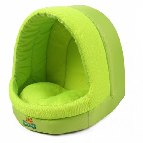 bed pillow for dogs orthopedic dog OutdoorDog Cat Basket Sleeping Basket Lime Green 35 x 39 x 38 cm