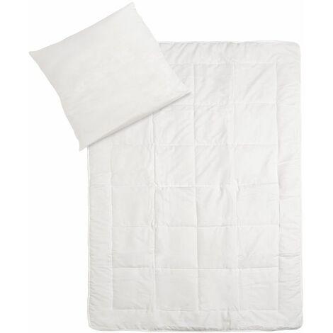 Bedding set - microfibre duvet + pillow - bedding, duvet, quilt