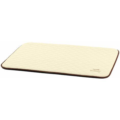 BedDog® estera NELLY, alfombra para perros de imitación de cuero, cama para perros, 8 colores, S-XXL