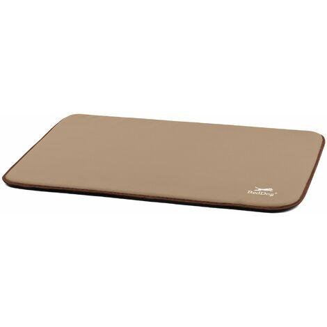 BedDog® estera POLLY, alfombra para perros de imitación de cuero, cama para perros, 8 colores, S-XXL