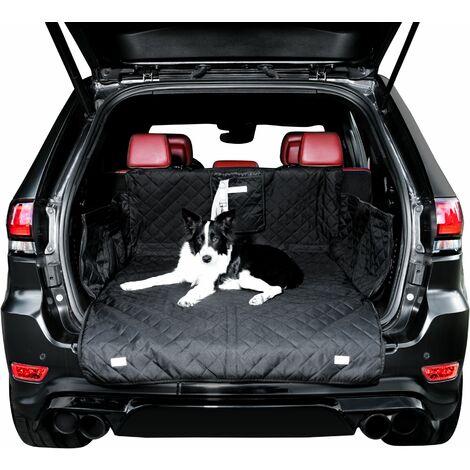 BedDog protector para el maletero de choches, funda universal, forro acolchado para maletero con protección lateral, colchoneta para perros:Asiento trasero