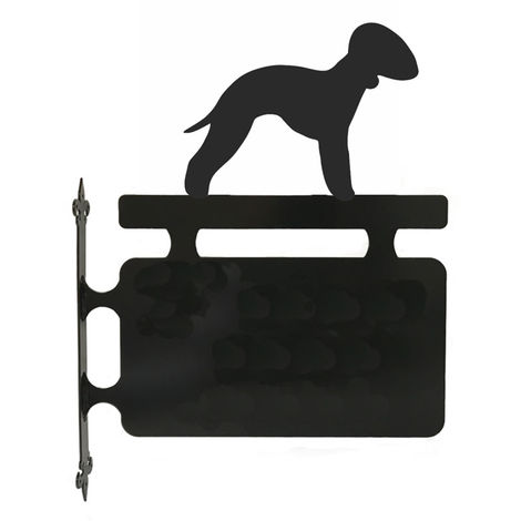 Bedlington Terrier Hanging Sign