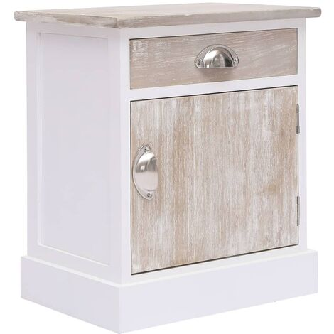 Bedside Cabinet 38x28x45 cm Paulownia Wood