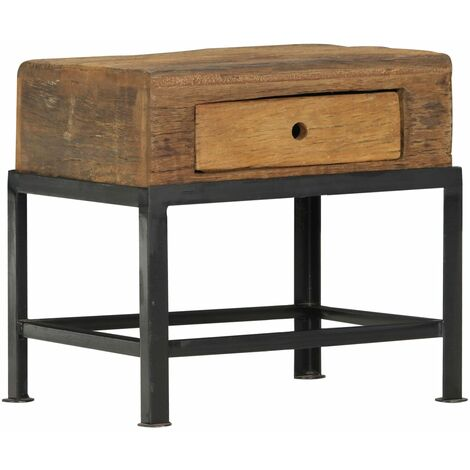 Bedside Cabinet 40x35x40 cm Solid Reclaimed Wood