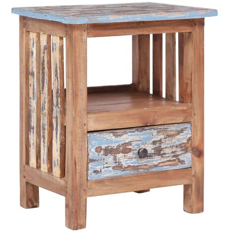 Bedside Cabinet 41x30x50 cm Solid Reclaimed Wood