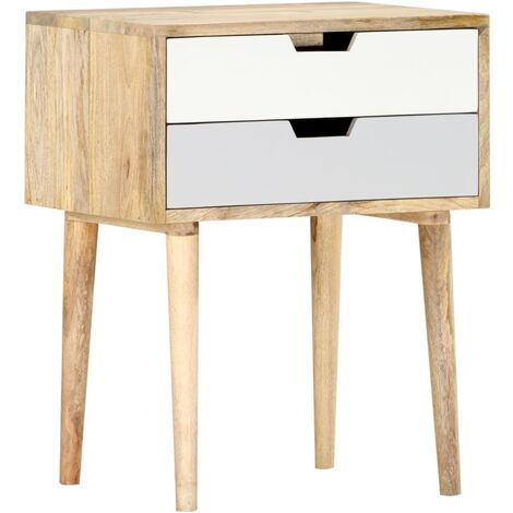 Bedside Cabinet 47x35x59 cm Solid Mango Wood