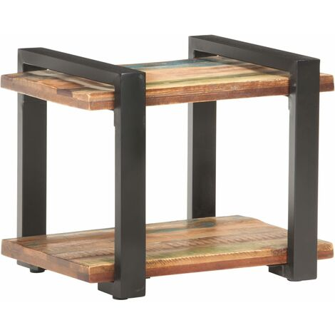 Bedside Cabinet 50x40x40 cm Solid Reclaimed Wood