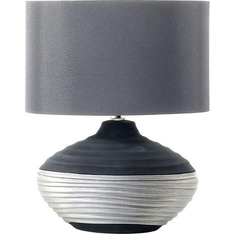 Bedside Lamp Grey LIMA