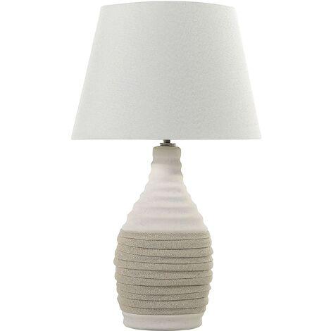 Bedside Lamp Light Beige TORMES