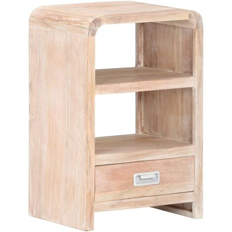 Bedside Table 40x30x60 cm Solid Acacia Wood