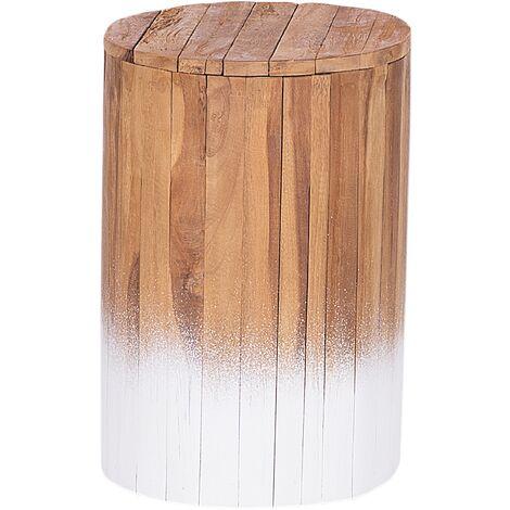 Bedside Table Light Wood MOVAS