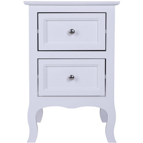 Bedside Tables Bedside Cabinet with 2 Drawers