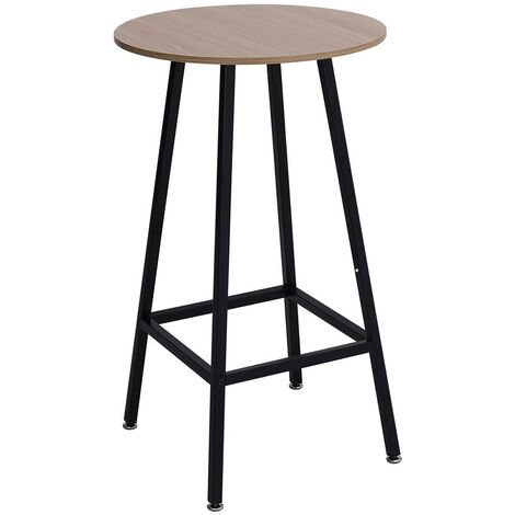 """main image of """"Tall Bar Table Breakfast Kitchen Dining Room Bistro Patio Modern Furniture Round"""""""
