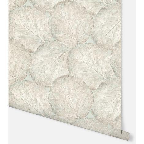 Beech Leaf Sage Green Wallpaper - Arthouse - 902500