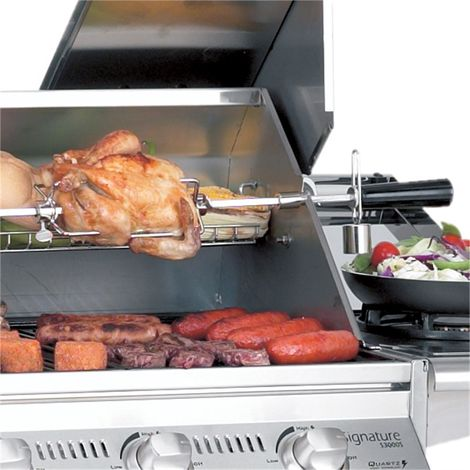 Beefeater 4 Burner BBQ Rotisserie Kit - Mains Powered