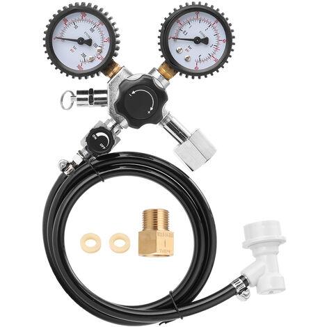 Beer CO2 Keg Regulator Safety Pressure Relief Valve 0-3000 PSI Tanks Pressure