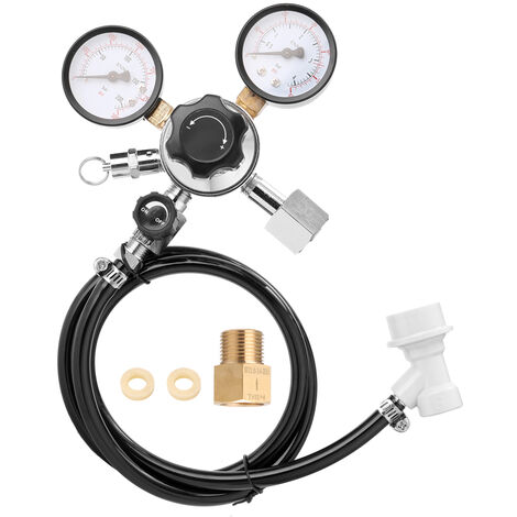 "main image of ""Beer CO2 Keg Regulator Safety Pressure Relief Valve 0-3000 PSI Tanks Pressure,model:Multicolor"""