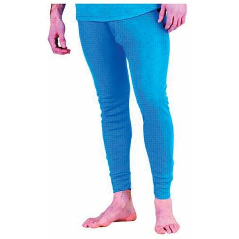 Beeswift Click Original Workwear Thlj Thermal Long Johns Blue Medium