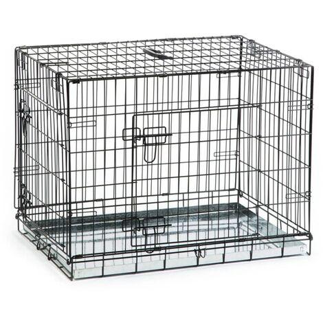 Beeztees Cage pour chiens 78 x 55 x 61 cm Noir