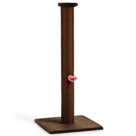 Beeztees Cat Scratching Post Bruno 40x40x90 cm Brown 408820