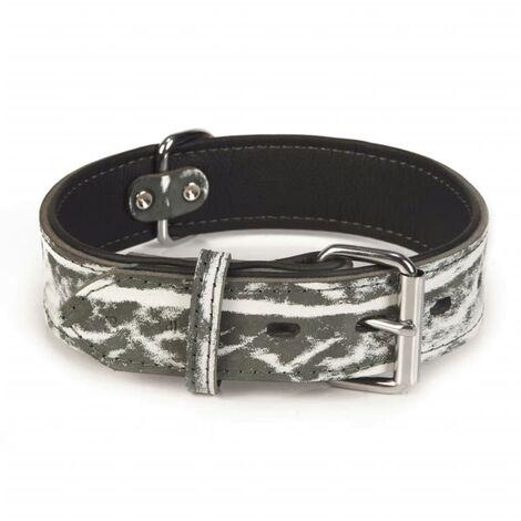 Beeztees Dog Collar Safari Leather 45 mm 61.5-71 cm 745909