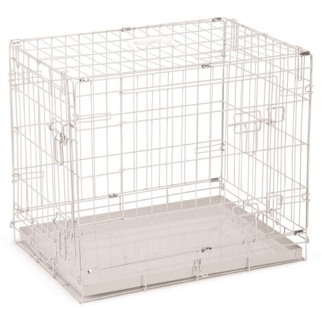 Beeztees Dog Crate 62x44x49 cm Grey