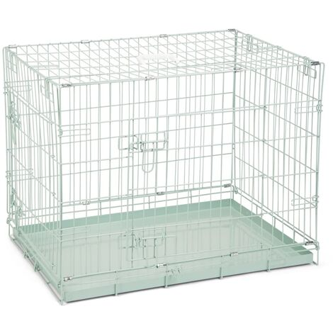Beeztees Dog Crate 78x55x61 cm Green