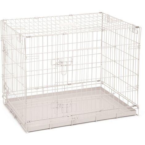 Beeztees Dog Crate 78x55x61 cm Grey