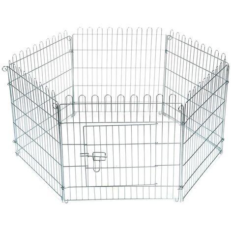 Beeztees Rabbit Garden Cage 60x60 cm Metal