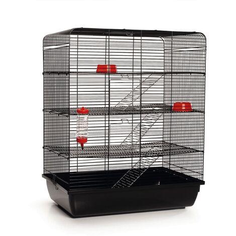 Beeztees Rat Cage Remy Black 58x38x71 cm 266815 - Black