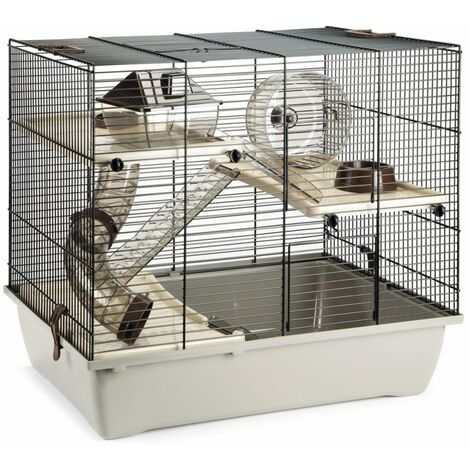 Beeztees Rodent Cage PINKY 3 50x33x45 cm - Brown