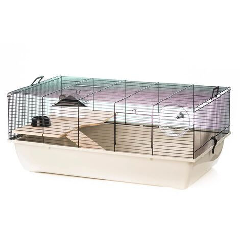 Beeztees Rodent Cage Tommy Wood 78x48x33 cm 266843 - Multicolour