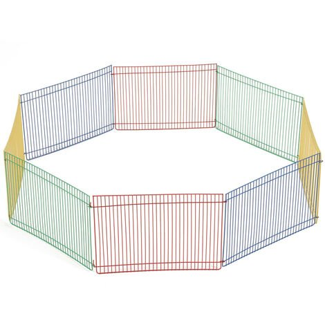 Beeztees Rodent Playpen with 8 Panels 275602 - Multicolour