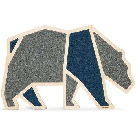 Beeztees Tablero rascador Blue Bear madera 84x54 cm - Gris