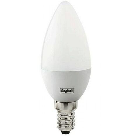Beghelli Aceite de la Lámpara LED de Ópalo E14 3.5 W 4000K Luz Fría 56967