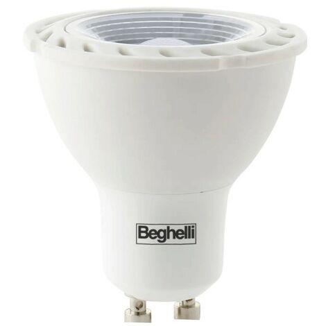 Beghelli Lampada Spot LED 4W GU10 3000K Luce Calda 56968