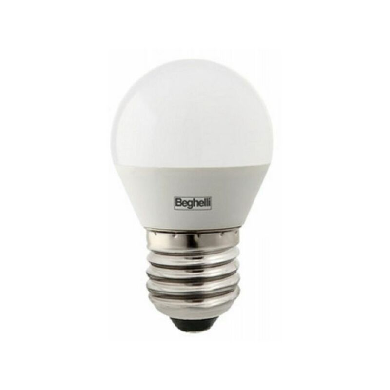 LAMPADINA LED SFERA E27 5W LUCE FREDDA 56821 6500K 470 LUMEN - Beghelli