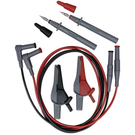 Beha Amprobe EU-200 Sicherheits-Messleitungs-Set [Prüfspitze, Krokoklemmen, 4 mm-Stecker - 4 mm-Ste Y454211