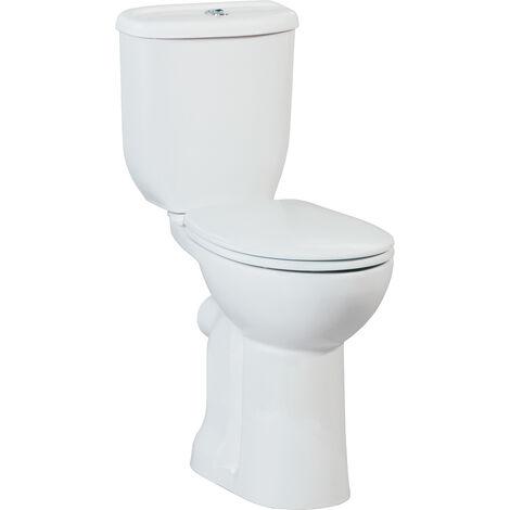 Behindertgerechtes Stand WC Tiefspüler in verschiedenen Varianten