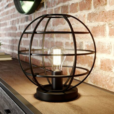Bekira cage table lamp in black