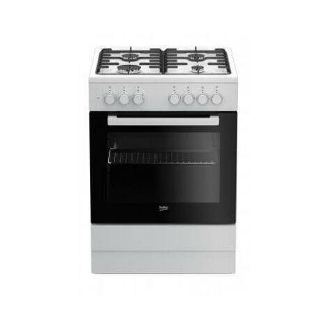 """main image of """"Beko fse62120dw Cocina Cocina Independiente Negro, Blanco encimera de Gas a"""""""