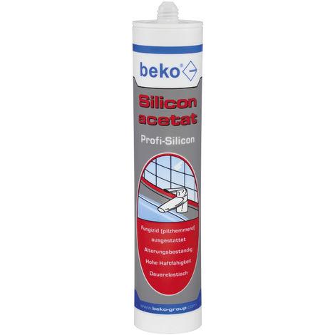 Beko Silicon acetat 310 ml SCHWARZ