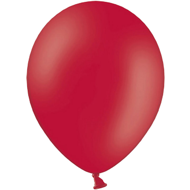 Image of 10.5 Inch Balloons (Pack Of 100) (One Size) (Pastel Red) - Belbal