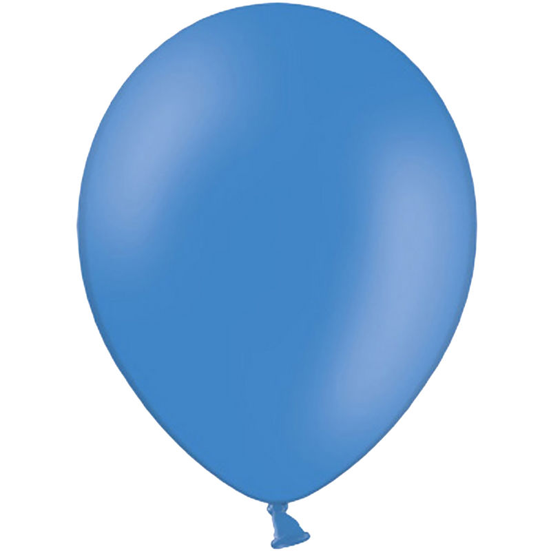 Image of 10.5 Inch Balloons (Pack Of 100) (One Size) (Pastel Mid Blue) - Belbal